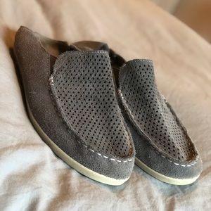 OluKai Perf shoes with drop-in heel